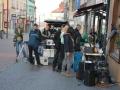 Filmový štáb natáčel v Kladně poslední scény nového dílu Básníků (Foto: KL)