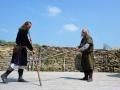Středověký den na hradě Okoři zakončila bitva (Foto: Jitka Krňanská - KL)