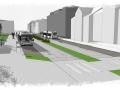 Nová podoba ulice C. Boudy (Foto: Město Kladno)