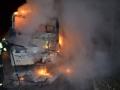 V Kladně shořel autobus za čtyři miliony korun (Foto: HZS Středočeského kraje)