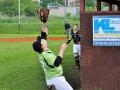 Kladenští baseballisté vyzvali pražský extraligový tým Eagles (Foto: Natálie Tauchenová)