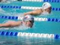 Michaela Svobodová v boji o medaile na 200M (Foto: KSPKladno)
