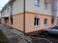 Při požáru bytu v obci Srby hasiči zachránili pět osob (Foto: HZS Středočeského kraje)