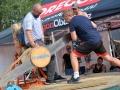 Hlavním tahákem festivalu Rack Reyd byla dřevorubecká show Eurojack (Foto: Jitka Krňanská - KL