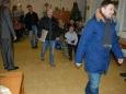 Nástup hokejistů do Domova důchodců doprovázel potlesk seniorů