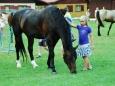 Vydra na koni a Matuš se zlatem v hrdle Starou Živohošt nadchli (Foto: KL)