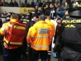 Ochranka kladenského stadionu brutálně zbila fanouška Rytířů (Foto: KL)