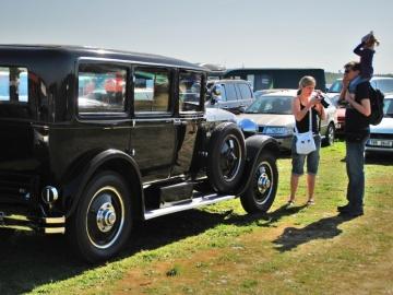 Hispanio Suiza byl nejdražším vozem na burze. Foto: KL-Jan Murárik