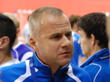 Petr Hlaváč - úspěšný trenér i talentovaný gólman (Foto: KL)