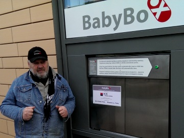 Ludvík Hess - zakladatel babyboxu (Foto: KL)