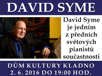 Americký klavírista David Syme