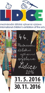Pozvánka na vernisáž 44. Mezinárodní dětské výtvarné výstavy Lidice 2016