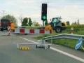 Oprava asfaltových povrchů na přemostění nad dálnicí D6