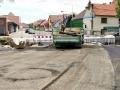Oprava mostu u náměstí v Kamenných Žehrovicích