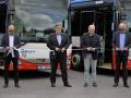 Prvních 14 nových autobusů bylo v Kladně slavnostně předáno (Foto: KL)