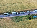Zdrogovaný řidič v kradeném autě ujížděl policii, u Kačice havaroval (Foto: Casualspectator)