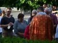 V Zahradě Kladenského zámku se vzpomínalo na horníky (Foto: Jitka Krňanská)