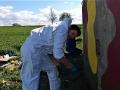 Dobrovolníci opravovali vojenský řopík u Slaného (Foto: Archiv Martina Niče)