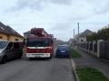 Den požární bezpečnosti byl ve znamení kontrol průjezdnosti (Foto: HZS Středočeského kraje)