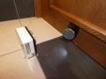 Dveřní magnet - při požáru uzavře požární dveře (Foto: MeU Slaný)