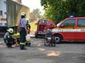 Hasiči na Slánsku zabránili obrovskému úhynu drůbeže (Foto: HZS Středočeského kraje)