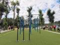 V Rozdělově si můžete zacvičit na novém street workoutovém hřišti (Foto: KL)