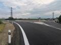 Nový kruhový objezd u Buštěhradu je hotový a průjezdný (Foto: KL)