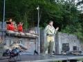 Divadelní představení Iliada se hrálo ve skanzenu Mayrau (Foto: Jitka Krňanská)
