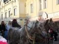 Kladnem projel už podesáté průvod Mikuláše, čertů a andělů (Foto: Kateřina Horčičková)
