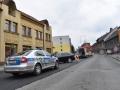Ve Slaném boural řidič čtyřkolky, se zraněním byl převezen do Motola (Foto: KL)