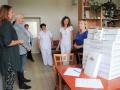 Novorozené děti v kladenské nemocnici bude hlídat 9 nových monitorů dechu (Foto: Hana Senohrábková)