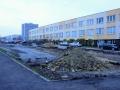 Moskevská ulice v Kladně se dočkala rozšíření parkoviště (Foto: KL)