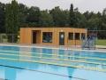 Plavčíci na Letním koupališti Sletiště mají nové zázemí (Foto: SAMK)