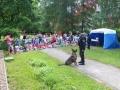 Kladenští policisté obohatili program na Dětském dnu v MŠ Růžové pole (Foto: PČR)