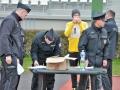 Přes bariéry s kladenskou policií (foto: KL)