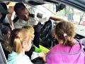 Kladenští policisté navštívili školku v Lánech (Foto: PČR)