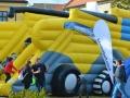 Ve Slaném rožnili býka a závodili v boulderingu (Foto: KL)