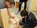 Kladenští studenti vyšperkovali Středočeskou vědeckou knihovnu (Foto: Ivona Kasalická)