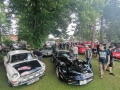 V Knovízi se jel po dvouleté odmlce závod historických vozidel (Foto: KL)