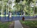 Workoutové hřiště na Sletišti (Foto: SAMK)