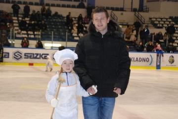 Vánocům v peřině pomáhal letos také Jiří Tlustý (Foto: KL)