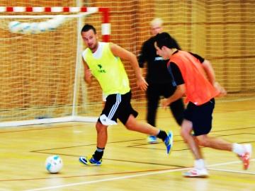Futsalisté SAT-ANu zahájili přípravu o dva týdny dřív než obvykle (Foto: KL)
