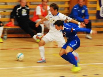Futsalisté SAT-ANu zatím tahají v lize za kratší konec provazu (Foto: KL)