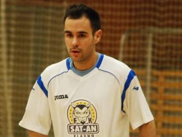 Marek Chrobák patřil v Chrudimi k nejlepším hráčům SAT-ANu (Foto: KL)