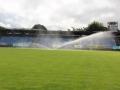 Pažit na Stadionu Františka Kloze zkrápí nový zavlažovací systém (Foto: SAMK)