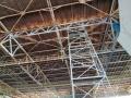 Na slánském zimním stadionu probíhá rekonstrukce střechy za 35 milionů (Foto: KL)