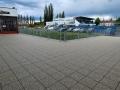 Ve Slaném byly dokončeny práce na terase zimního stadionu (Foto: MěU Slaný)